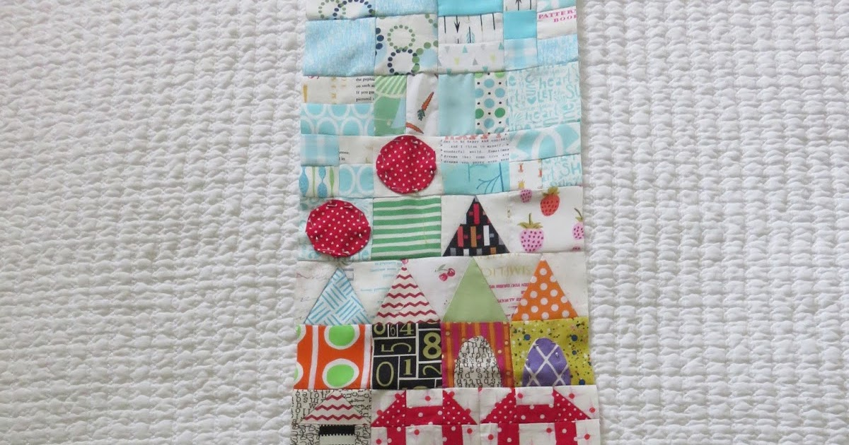 Quilting Square One: my small world section two