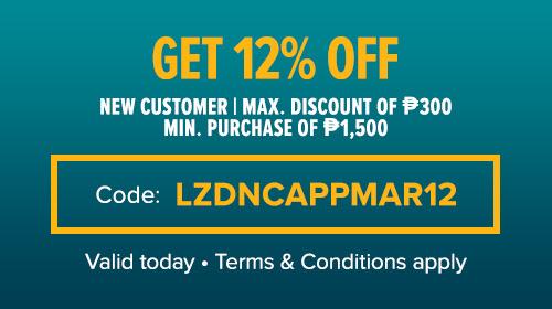 Lazada's New Customer Voucher