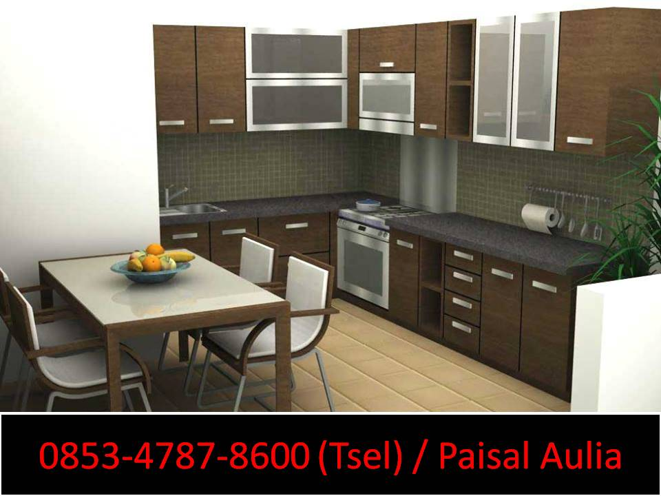 Kitchen Set Modern Banjarmasin Kitchen Set Modern Minimalis 2017