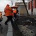 Video. Se modernizeaza trotuarele de pe strada Baragan