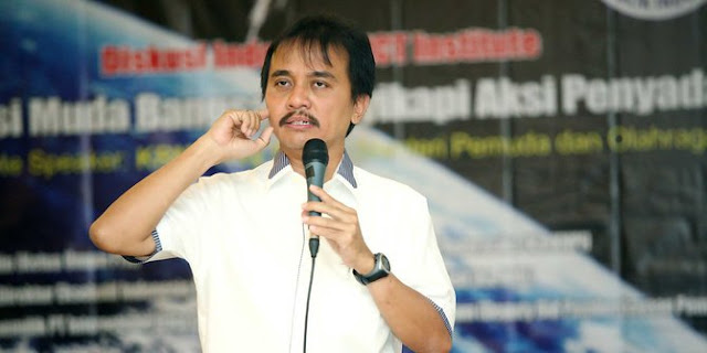 Roy Suryo Tak Percaya TGB Pelihara Buzzer Jahat