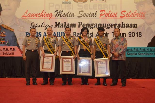Wakapolda Lampung Duta Polisi Selebriti