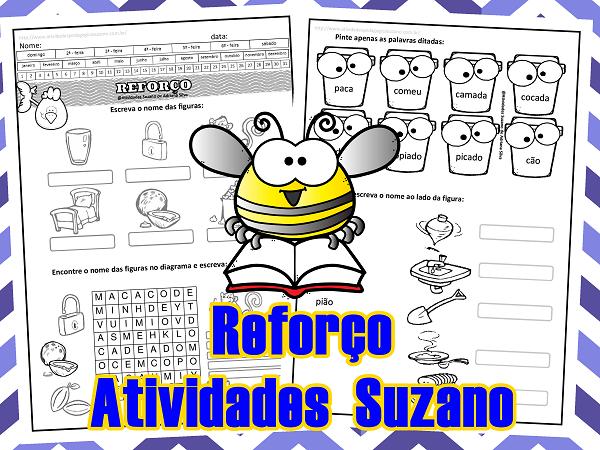 alfabetização-letra-P- atividades- Suzano