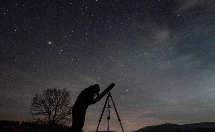 Melihat galaksi selain bimasakti di langit malam info astronomy