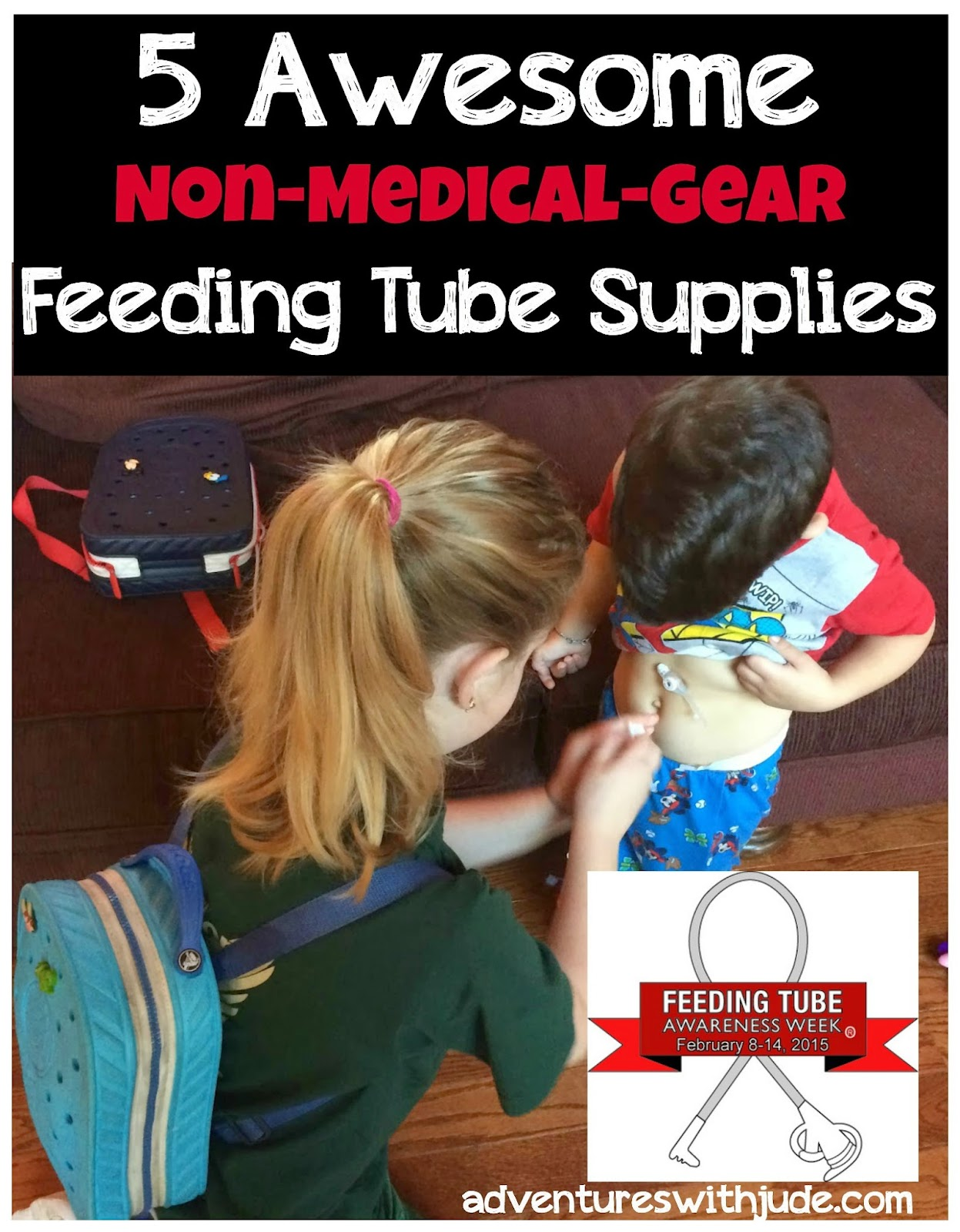 Our favorite feeding tube supplies that you won't find at the DME