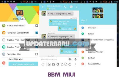 link download 6 Aplikasi BBM Mod Tema MIUI