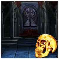 MirchiGames -  The Dark Night Skull Land Escape