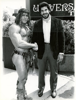 Lou Ferrigno and barbarian