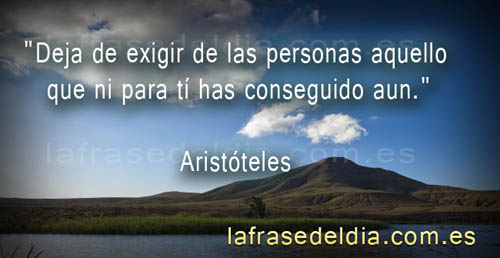 Citas famosas de Aristóteles