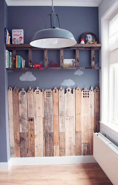 Pallets For Decorating Children's Rooms 13
