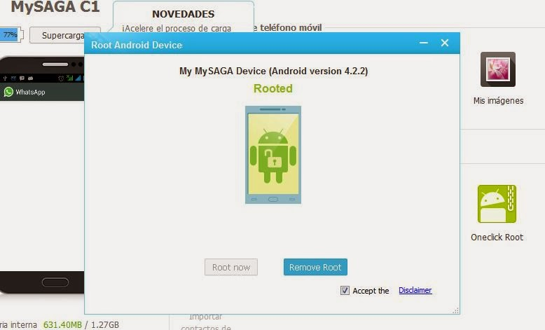 Como rootear un teléfono Android con Mobogenie