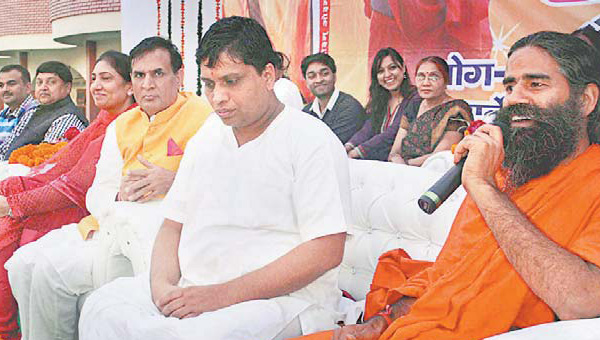 baba-ramdev-with-balkrishan-at-amroha-gurukul