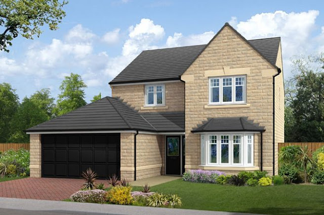 "This Is Huddersfield Property - 4 bed detached house for sale ""The Ingleton"" at Crosland Road, Huddersfield HD3"