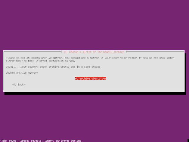 Ubuntu Minimal CD nearest mirror selection