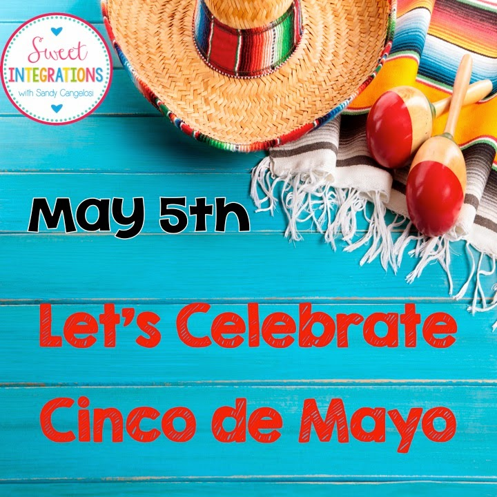 You students can learn about other cultures and their celebrations. This post is filled with activities about Cinco de Mayo in Mexico.