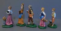 statuine famiglia personalizzate medico stetoscopio pc orme magiche