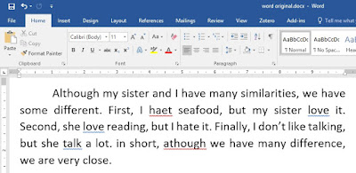 Paragraf Awal Bahasa Inggris