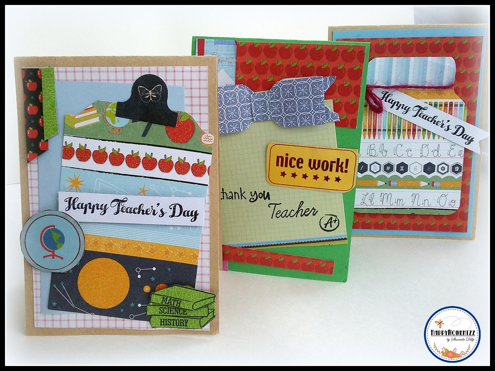 happymomentzz craftingsharada dilip teachers day cards