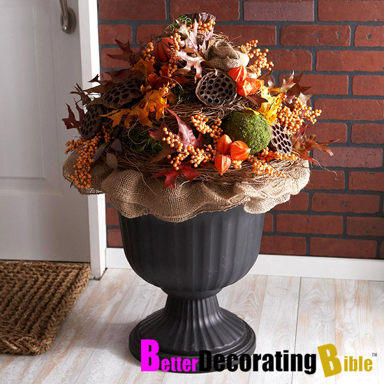 For Outside Fall Decorating Ideas: Shelley B Decor And More: Fall Porch Decorating