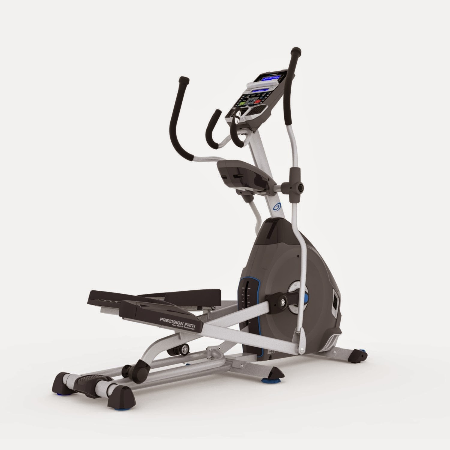 Nautilus E616 Elliptical Trainer, review, 29 workout programs, 25 resistance levels, Bluetooth connectivity, 20 inch stride length, acoustic chambered speakers, motorized incline, blue backlit dual track LCD display, compare with Nautilus E614