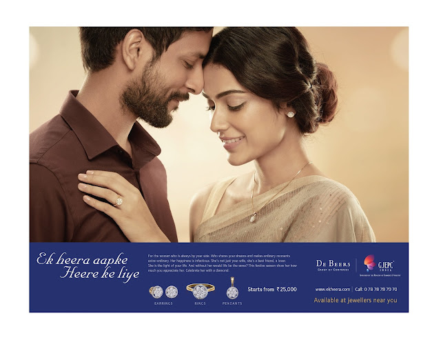 DEBEERS AND GJEPC JOIN HANDS TO LAUNCH NEW CAMPAIGN ON DIAMONDS TO CREATE EXCITEMENT FOR THE FESTIVE SEASON