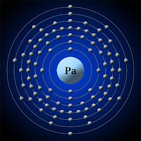 Protaktinyum atomu