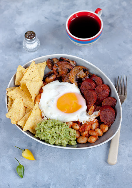 nacho brunch bowl