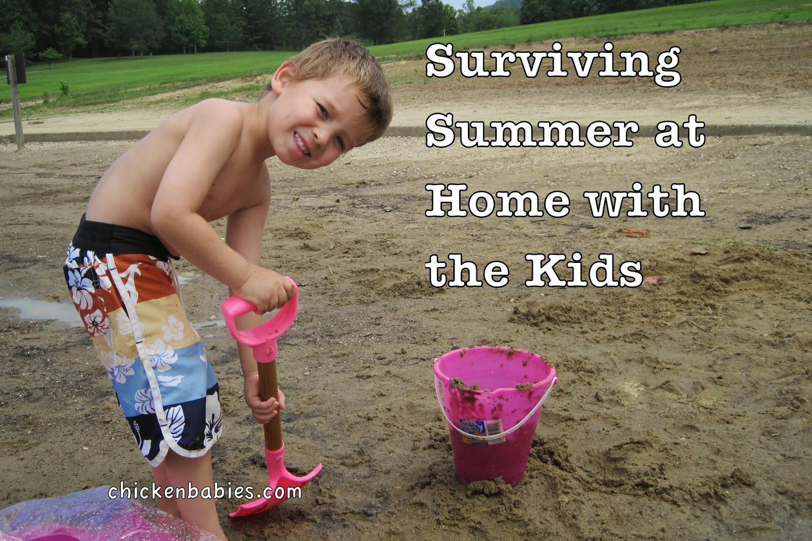 Great tips to help make long summer days at home with the kids easier!