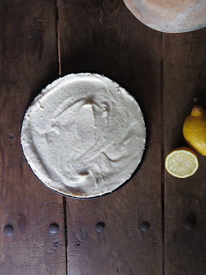 tarta queso crudivegana