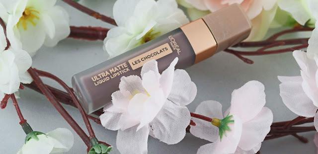 Ultra matte Les chocolats de l'oréal , Bof !