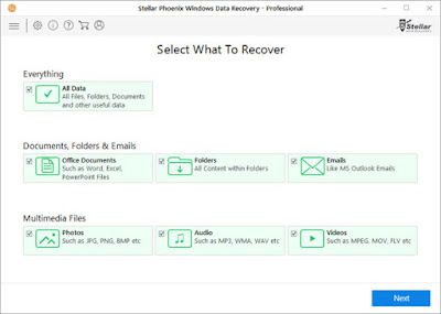 Stellar Phoenix Windows Data Recovery - Professional