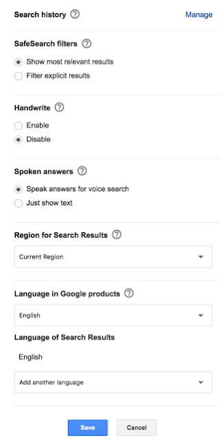 New Results Per Page Search Settings Option