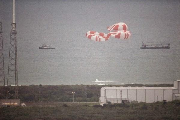 SpaceX Crew Dragon Splash Down