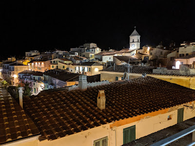 Capoliveri at night.