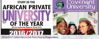 2016/2017 Admission to Full Time Degree Programmes
