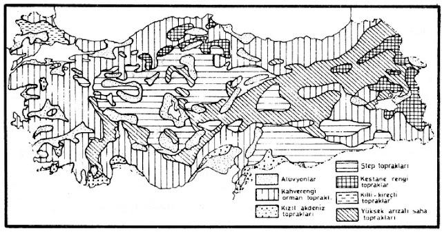 türkiye toprak haritası