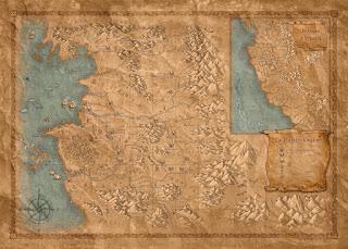 Mapa Geralt de Rivia
