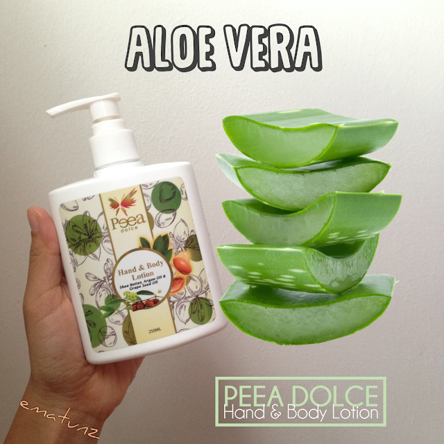 kandungan hebat Peea Dolce Lotion _ losyen wangi viral