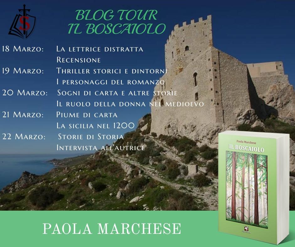 Il boscaiolo di Paola Marchese - Blog Tour - La Sicilia nel 1200