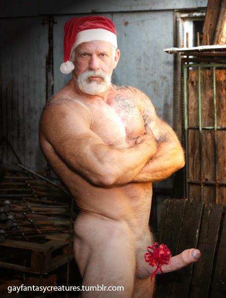 santa claus gay nud por