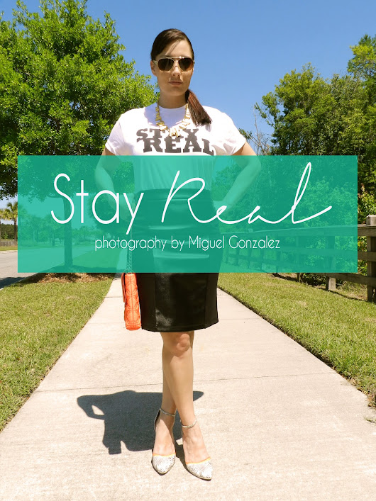Fashion Files : Staying Real