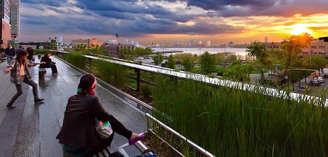 Parque High Line em Nova York