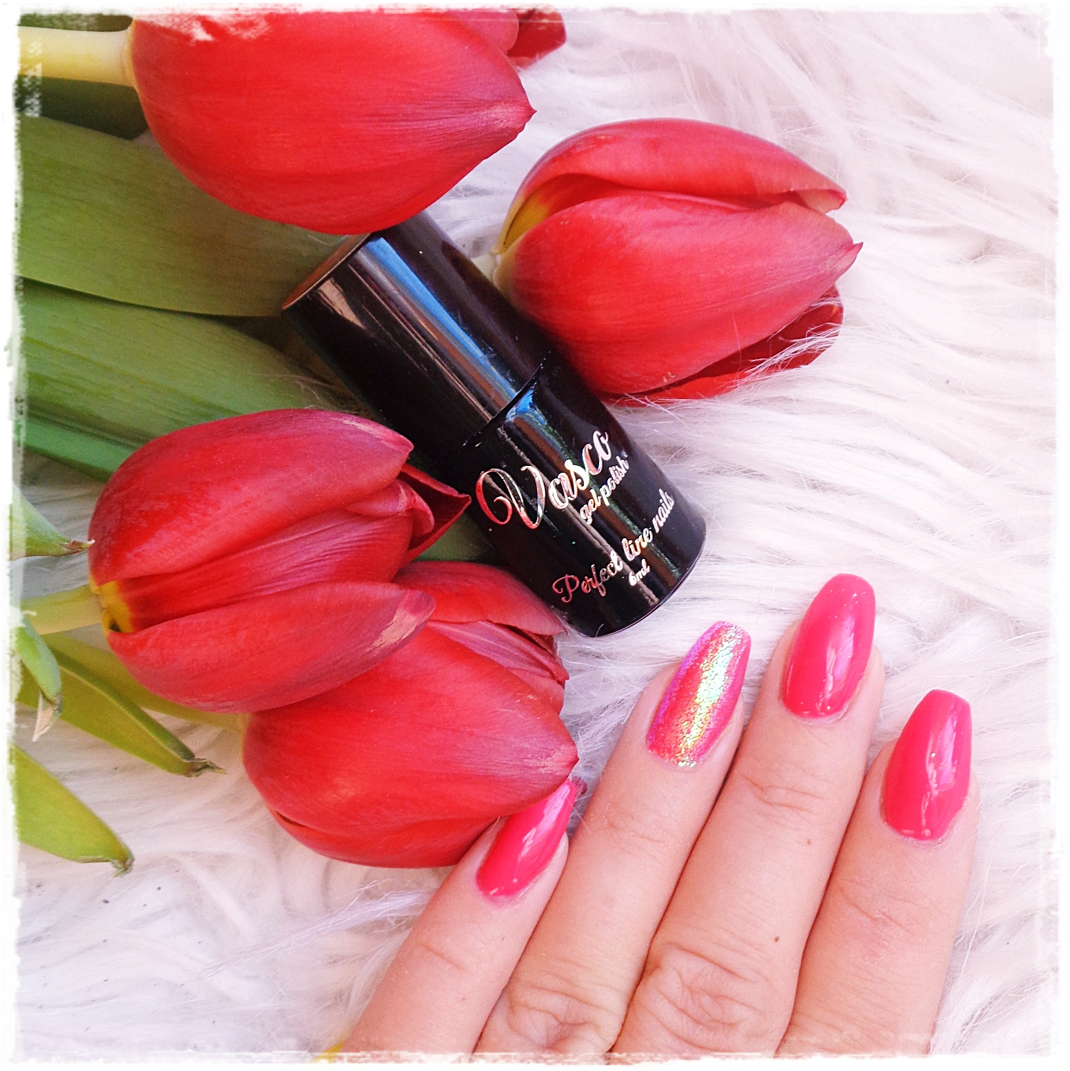 VascoNals, Maybe Coral, Nowy Manicure - Nowe Paznokcie