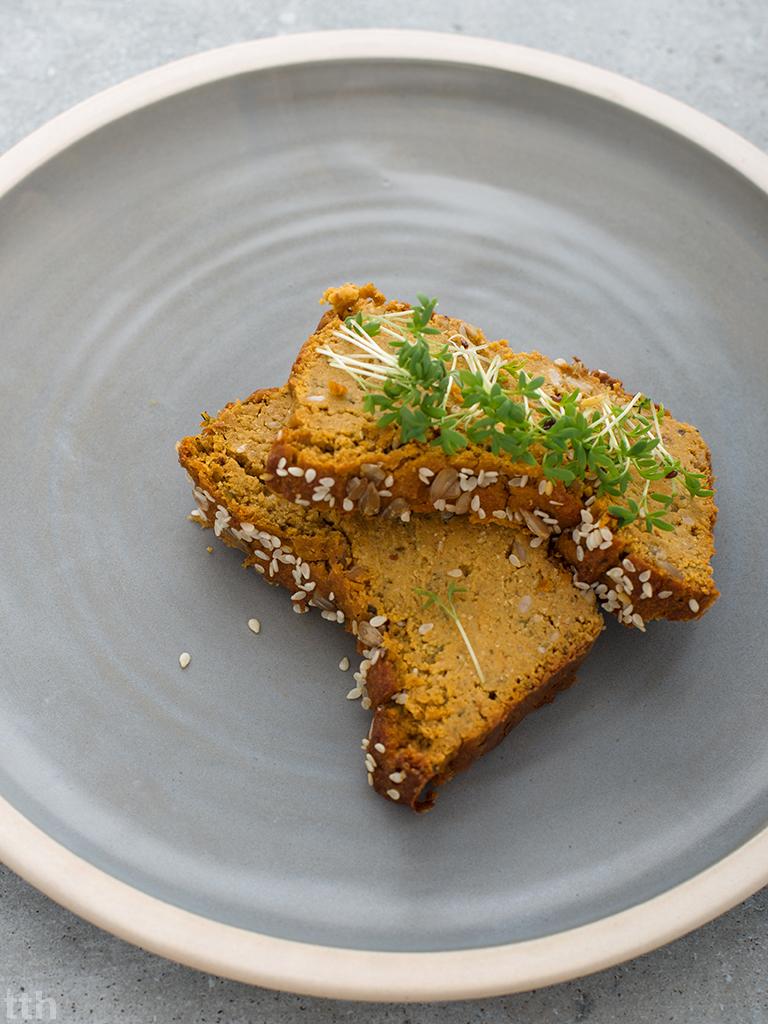 Pasztet z czerwonej soczewicy z pieczonym batatem wegański, bezglutenowy kuchnia roślinna blog kulinarny