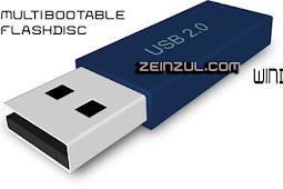 Cara Pasang Lebih Satu Sistem Operasi Pada Bootable Flashdisk