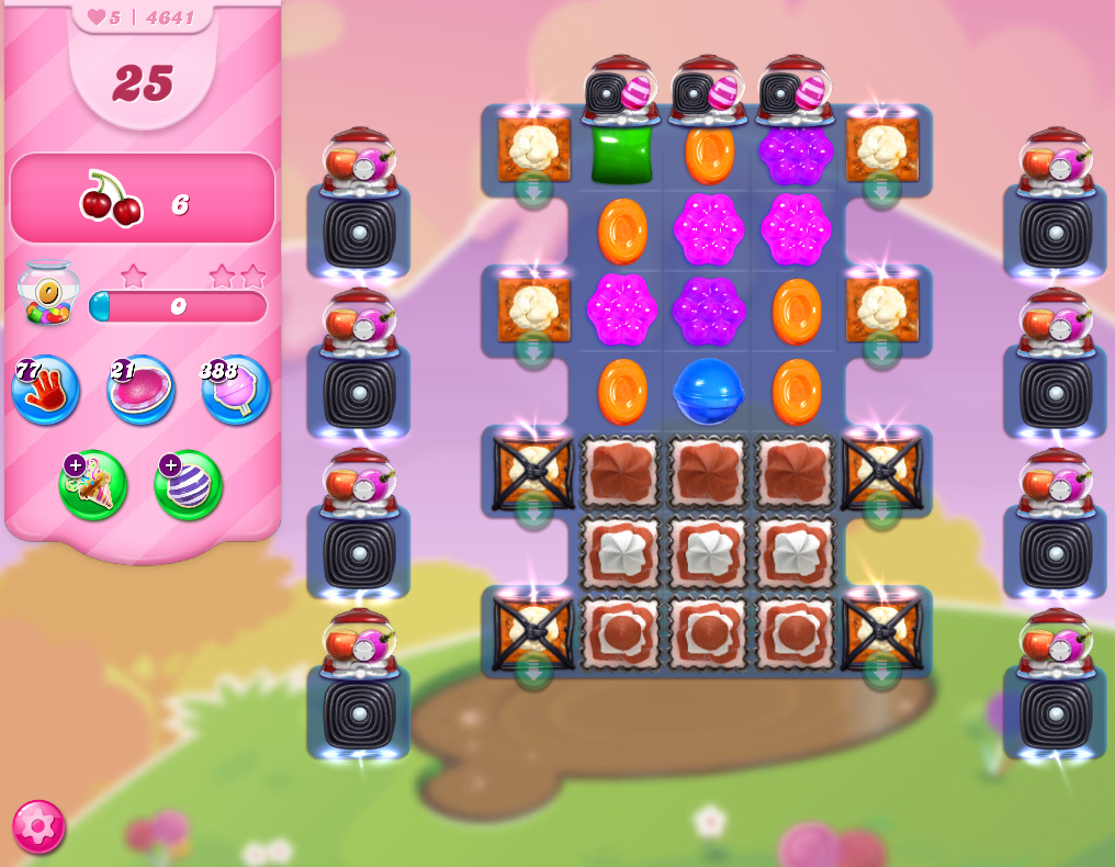 Candy Crush Saga level 4641
