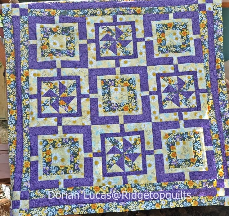 Visit Dorian @ Ridge Top Quilts