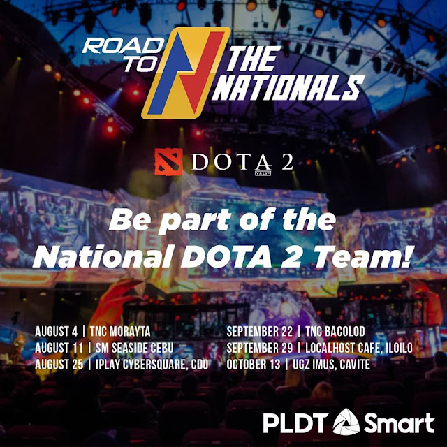 PLDT, Smart kick off 'Road to Nationals eSports Tourney