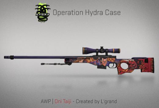 Operation Hydra Case - AWP | Oni Taiji