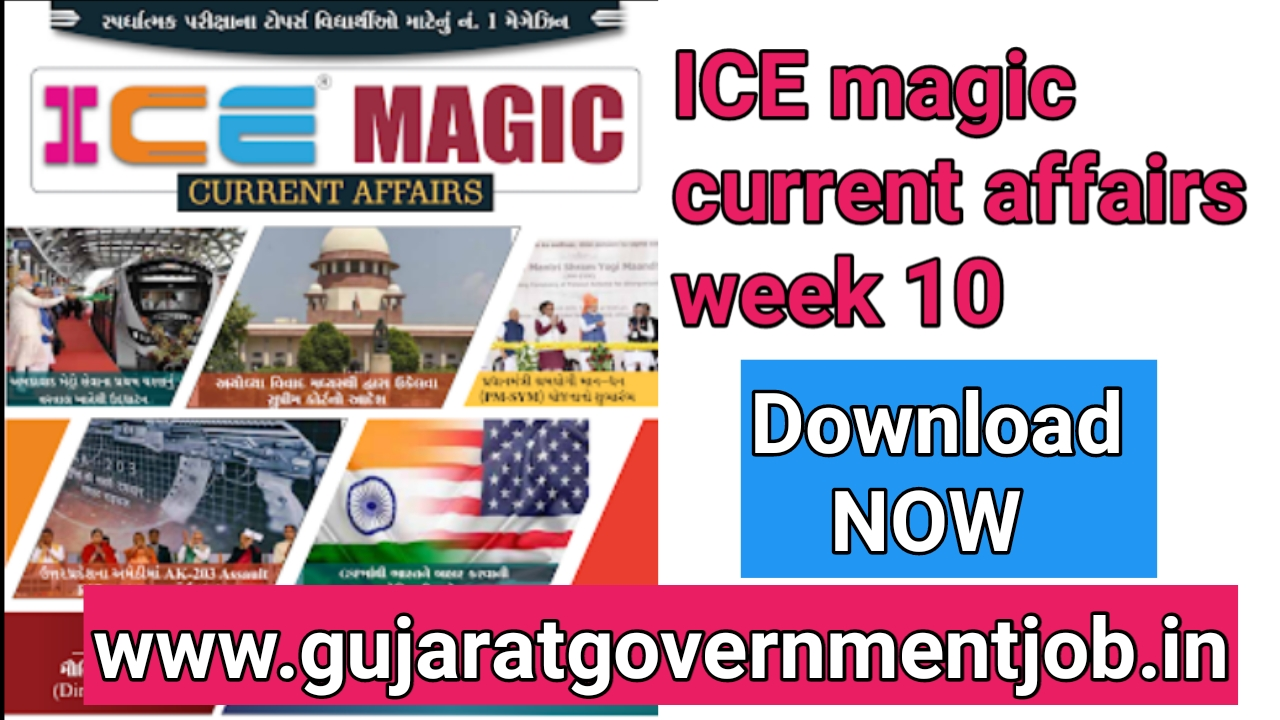 Free download ICE Magic current affairs week 10 @iceonline in